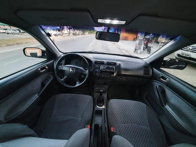 Civic 1.7 LX Gasolina 2001 Repasse! - Foto 9