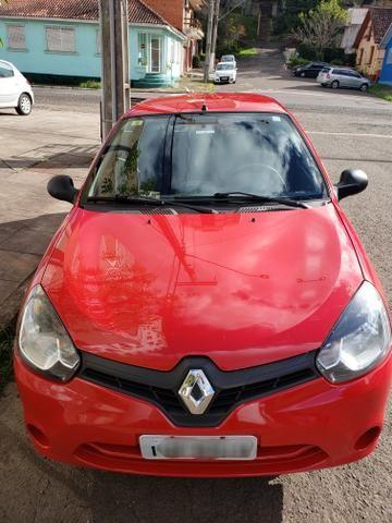 Renault clio expression 1.0 16v 4 portas completo 2013/2014 *único dono* placa i - Foto 2