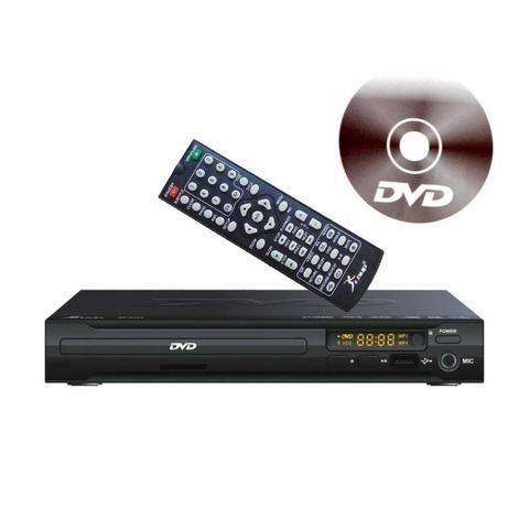 Aparelho DVD Player Rca 2.0 Canais USB Mp3 Cd Ripping Karaoke Knup Preto KP-D103 Bivolt - Foto 6