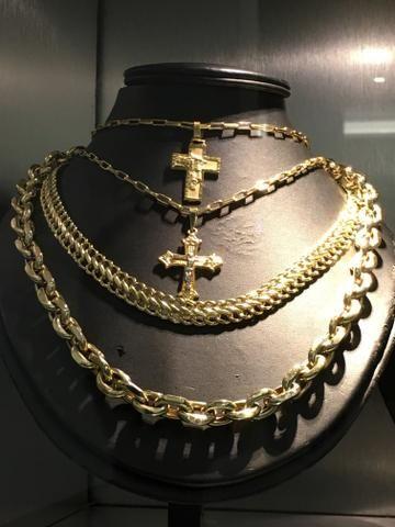 a3795012644 Corrente masculina Cartier com 53 gr de ouro 18k! - Bijouterias ...
