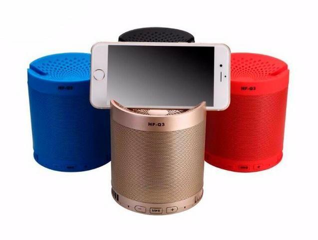 Caixa de Som Bluetooth com Suporte para Celular - NOVO - (Whats 99266-5951) - Foto 3