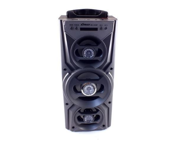 Caixa De Som Portatil Bluetooth Usb Sd Tf P2 Radio Fm A10066