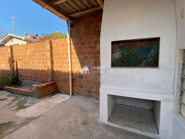 Casa 03 dormitórios para venda em Santa Maria no bairro Itararé com pátio e ok para financ - Foto 8