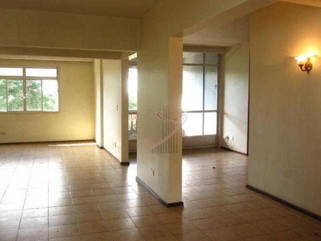 Apartamento com 2 dormitórios para alugar, 110 m² por R$ 1.900/mês - Centro - Foz do Iguaç - Foto 3