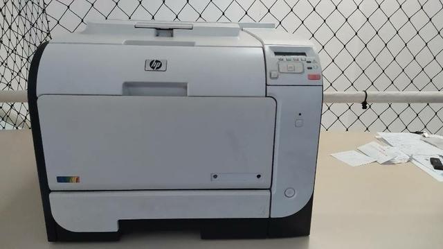 Impressora hp laserjet m451dw pro 400 ce958a colorida wi-fi / duplex |