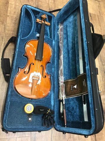 Violino 4/4 Eagle Ve441 Series limitada Caramelo Ccb tampo spruce completo a paz