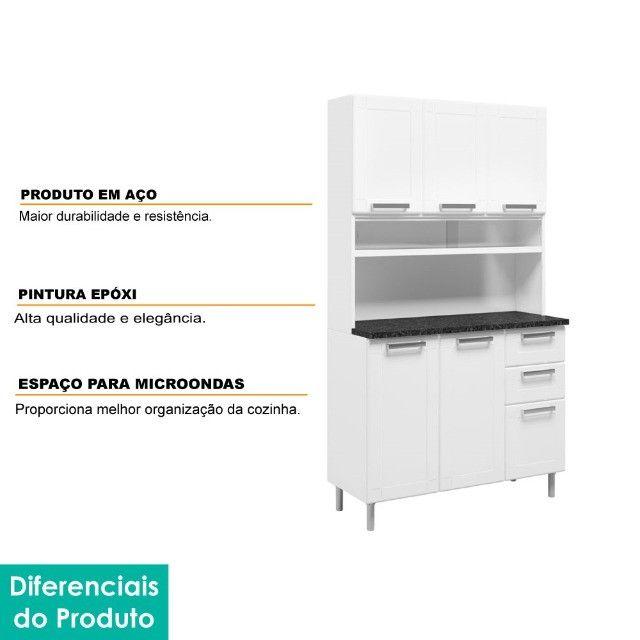 Armario de cozinha em AÇO *pague na entrega - Foto 3