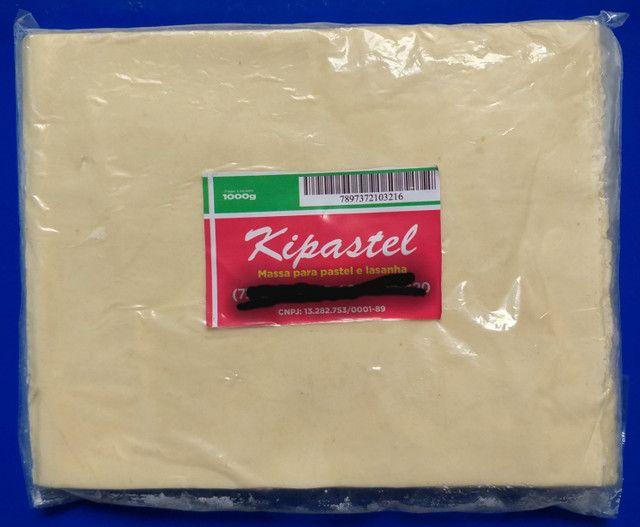 Massa de pastel rolo(1kg)/disco(200g)/cortada(1kg) - Foto 3