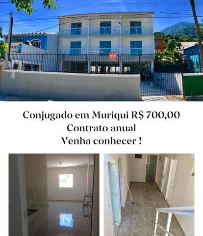 Laurinho Imóveis - Conjugado em Muriqui - Costa verde