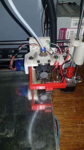Impressora 3D frame de acrílico pronta pra uso. - Foto 4