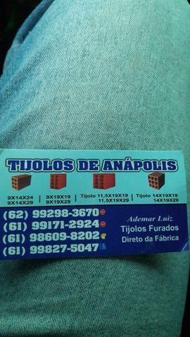 Tijolos de Anápolis  dereto da fábrica  a 6650$$ o milheiro  - Foto 4