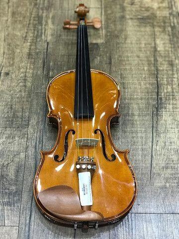 Violino 4/4 Eagle Ve441 Series limitada Caramelo Ccb tampo spruce completo a paz - Foto 4