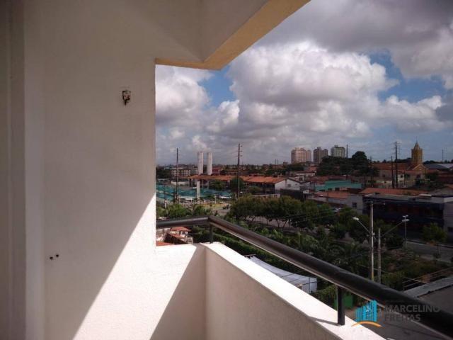 Apartamento com 3 dormitórios para alugar, 112 m² por R$ 999,00/mês - São Gerardo - Fortal - Foto 10