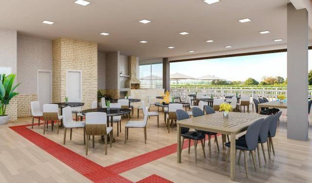 Apartamento com 2 dormitórios sendo 1 suíte à venda, 49 m² por R$ 152.500 - Centro - Euséb - Foto 3