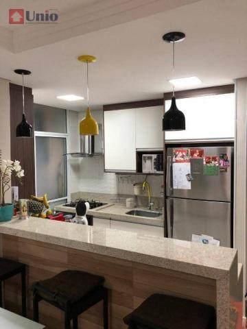 Apartamento com 3 dormitórios à venda, 68 m² por R$ 390.000 - Alto - Piracicaba/SP - Foto 13