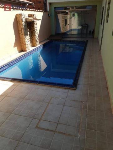Casa com 3 dormitórios à venda, 220 m² por R$ 405.000 - Conjunto Residencial Mário Dedini  - Foto 6