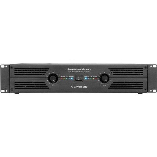 Cabeçote Amplificador Potência American Audio VLP1500 - Foto 2