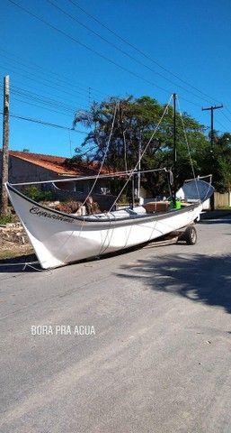 Canoa de fibra - Foto 7