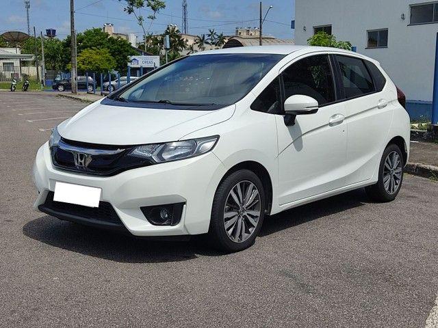 Honda Fit branco 2016 automático