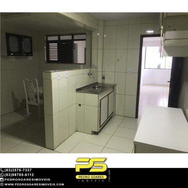 Apartamento com 3 dormitórios para alugar, 90 m² por R$ 1.700/mês - Aeroclube - João Pesso - Foto 8