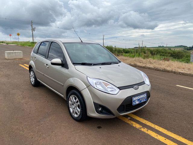 Fiesta 2012 Hatch 1.6 Completo + Multimídia e sensor de Ré - Foto 2