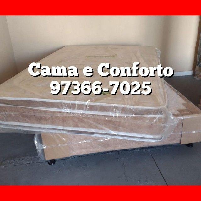 CAMA BOX CASAL, IMPERDÍVEL ENTREGA GRÁTIS, A PARTIR DE $249,99!! - Foto 5