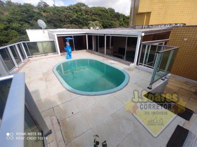 Cabo Branco, Cobertura, pisc  priv, 2 qt, 110m², 480mil, Venda, Apartamento, João Pessoa - Foto 15