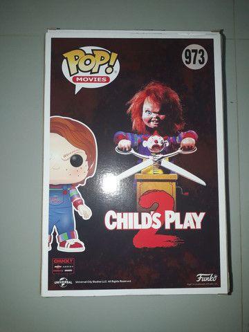 Funko pop childs play 2 chucky 973 25cm 1 kilo  - Foto 3