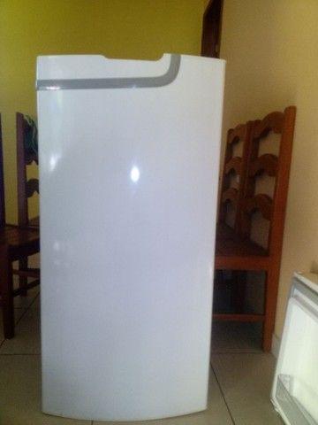 Porta e prateleiras de geladeira