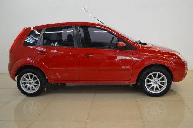 Fiesta Class 1.6 - completo - vermelho - ano 2009 - Foto 3
