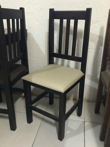 Mesa c/ 4 cadeiras estofadas para Restaurantes/Lanchonetes/Pizzaria - Foto 6