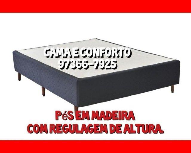 CAMA BOX, BAÚ E COLCHÕES, DIRETO DA FÁBRICA!!! - Foto 4