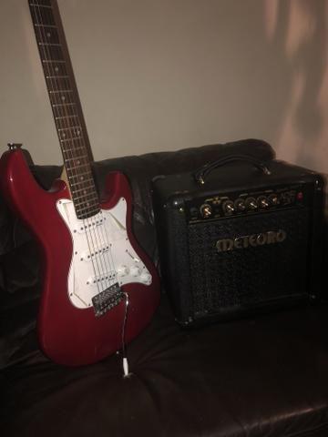 Guitarra e amplificador novos!