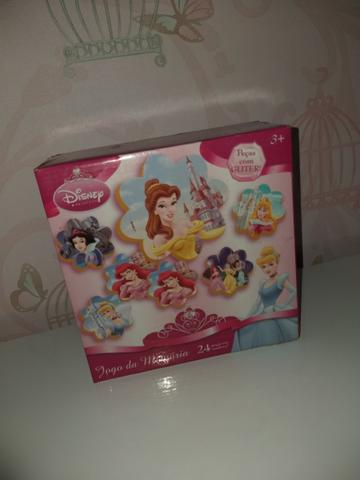 Jogo da Memória - Princesas da Disney