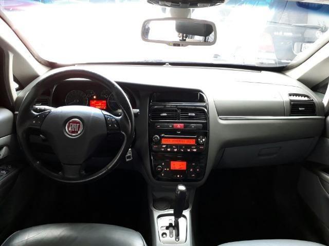Fiat Linea 1.9 Mpi Absolute 2009/2009 Preto Blindado - Foto 7