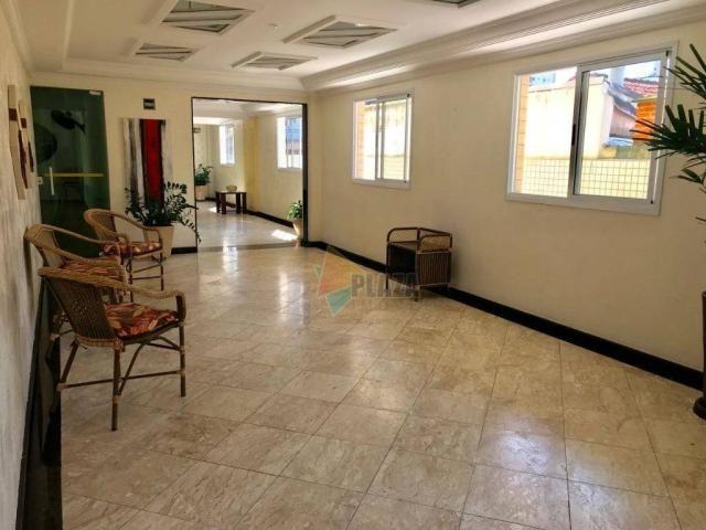 Apartamento para alugar, 82 m² por R$ 2.800,00/mês - Tupi - Praia Grande/SP - Foto 16