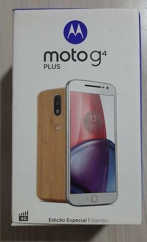 Celular Moto G4 Plus, edição especial Bambu!