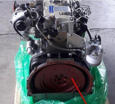 Motor ISM N844LT Shibaura - Mini Carregadeira New Holland L218 - Foto 3