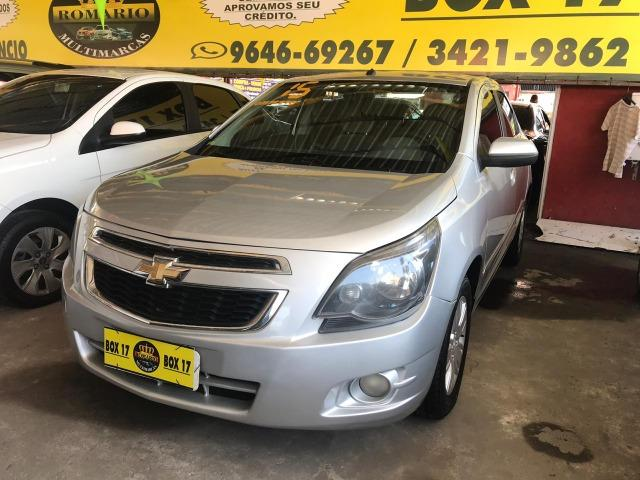 Chevrolet Cobalt 2015 + GNV ltz (mylink, volante multifuncional, automático TOP de linha) - Foto 4