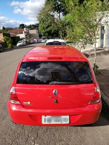 Renault clio expression 1.0 16v 4 portas completo 2013/2014 *único dono* placa i - Foto 4