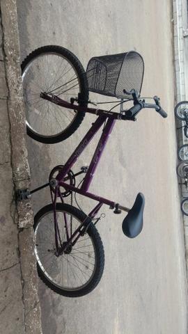 Vendo 280,00 ou troco essa bike novinha com apenas 2 meses de uso em um celular