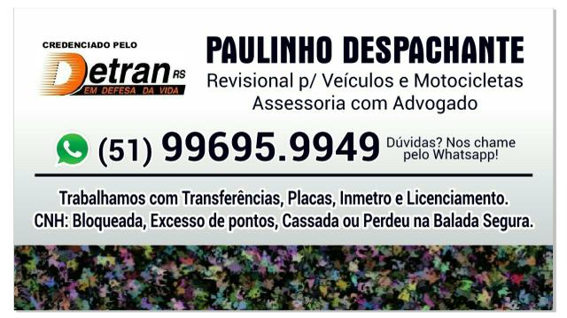 Paulinho despachante