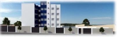 Cobertura à venda com 2 dormitórios em Caiçara, Belo horizonte cod:6239