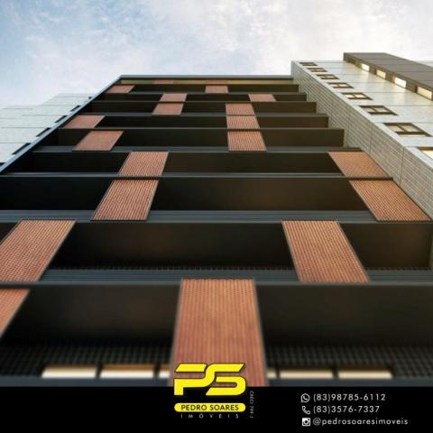 Apartamento com 2 dormitórios à venda, 60 m² por R$ 468.000 - Cabo Branco - João Pessoa/PB - Foto 4