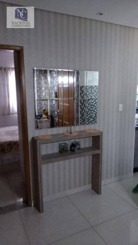 Cobertura com 2 dormitórios à venda, 106 m² por R$ 335.000,00 - Vila Tibiriçá - Santo Andr - Foto 2