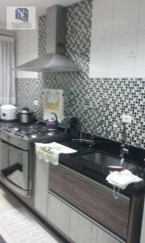 Cobertura com 2 dormitórios à venda, 106 m² por R$ 335.000,00 - Vila Tibiriçá - Santo Andr - Foto 14
