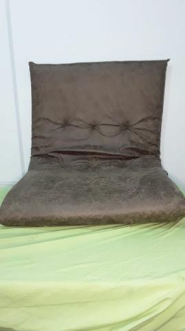 Futon- sofá cama- colchão estiloso - Móveis - Mirandópolis ...
