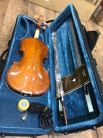 Violino 4/4 Eagle Ve441 Series limitada Caramelo Ccb tampo spruce completo a paz - Foto 5