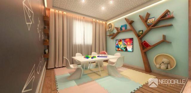 Apartamento com 1 dormitório à venda, 35 m² por R$ 230.000,00 - Bancários - João Pessoa/PB - Foto 17