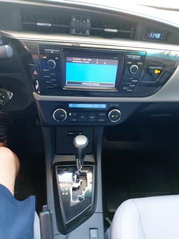 Toyota Corolla 2015 XEI 2.0 Automático Blindado Só 42.000 Km De Garagem Particular - Foto 10